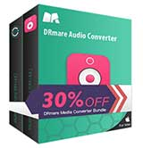 $25 Off DRmare M4V + Audio Converter Bundle Coupon Code for Windows & Mac