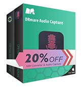 $14.95 Off DRmare M4V Converter + Audio Capture Coupon Code for Windows & Mac