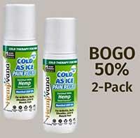 50% Off Hempvana Cold As Ice 2-Pack