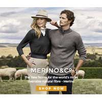 $20 off first purchase at merinoandco.com.au.