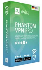 Avira Phantom VPN Pro Coupon Code 2019, 45% discount & deals