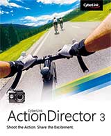 Cyberlink ActionDirector 3 Coupon Code, 10% discount & deals