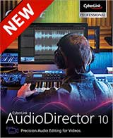 Cyberlink AudioDirector 10 Ultra Coupon Code, 10% discount & deals