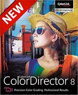 Cyberlink ColorDirector 8 Ultra Coupon Code, 15% discount & deals