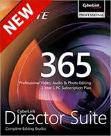 Cyberlink Director Suite 365 Coupon Code, 36% discount & deals