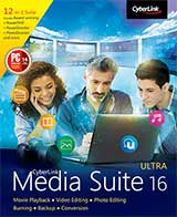 Cyberlink Media Suite 16 Coupon Code, 15% discount & deals
