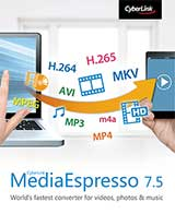 Cyberlink MediaEspresso 7.5 Coupon Code, 10% discount & deals