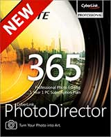 Cyberlink PhotoDirector 365 Coupon Code, 38% discount & deals