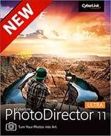 Cyberlink PhotoDirector 11 Coupon Code, 37% discount & deals