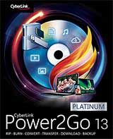 Cyberlink Power2Go 13 Coupon Code, 15% discount & deals