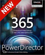 Cyberlink PowerDirector 365 Coupon Code, 38% discount & deals