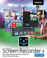 Cyberlink Screen Recorder 4 Coupon Code, 37% discount & deals