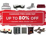 Up to 80% Off Furniture Clearance Sale