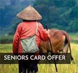 $100 off tours for senior card holders