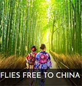 Free flights to Japan & China or get 50% off solo tours