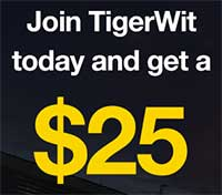 Join TigerWit Today and Get a $25 Trading Bonus